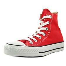 Converse Chuck Taylor All Star Core Hi Men  Round Toe Canvas Red Sneakers