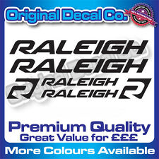 Premium Quality Raleigh Bike Decals Stickers mountain bike road frame mtb