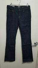 7 For all Mankind Womens Bootcut Jeans - Rinse