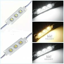 SMD 3-5050 LED MODULE LIGHT INJECTION Warm/Cool White Waterproof Strip Light