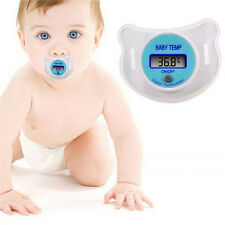 New Infants LED Pacifier Thermometer Baby Health Safety Temperature Monitor OZ