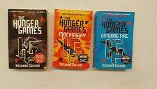 The hunger games trilogy books Suzanne Collins mockingjay catching fire