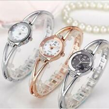 Charming Women Stainless Steel Crystal Waterproof Analog Quartz Wrist Watch