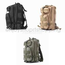 25L Hiking Camping Travel Bag Army Military Tactical Trekking Rucksack Backpack