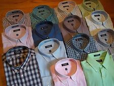 NWT, $50. MSRP, Mens Chaps Wrinkle Free Cotton Blend Classic Fit Dress Shirt