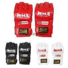 MMA UFC Grappling Thai Fight Boxing Sparring Punch Bag Training Glove Half Mitts