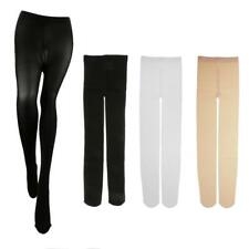 Velvet Dance Pantyhose Footed Tights Stockings Control Top Girl's Dance Tights