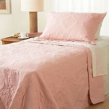 NEW Twin Full Queen King Bedspread Coverlet Quilt 3 pc Set Blanket Shams Pink
