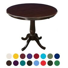 """ONE (1)  ~ PEDESTAL BASE ROUND 30"""" WOOD DINING TABLE ~ YOUR CHOICE ~ NEW!"""