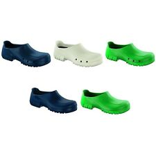 Alpro by Birkenstock A650 antistatic Safe&Clean clogs - White Blue Green
