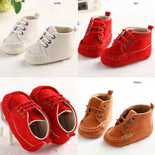 Baby Girl Cloth Shoes Infant Girl Boy Toddler Soft Sole Sneakers Prewalker Size1