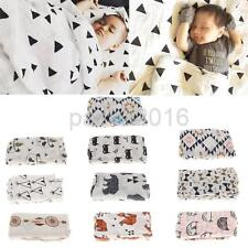 Baby Receiving Blanket Large Newborn Swaddle Blankets Muslins Cotton Wrap Cover