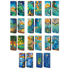 OFFICIAL DREW BROPHY SURF ART 2 LEATHER BOOK WALLET CASE FOR SAMSUNG PHONES 1