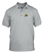 SMILE FACE VETERINARIAN CAT DOG Embroidery Embroidered Unisex Golf Polo Shirt