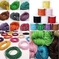 Wholesale 10M Waxed Nylon Thread Cords For Jewelry DIY Colors Craft Making 1.5mm