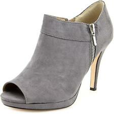 Style & Co Tayner Women  Peep-Toe Synthetic Gray Ankle Boot NWOB