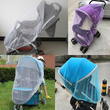 Infants Baby Stroller Pushchair Anti-Insect Mosquito Bug Net Safety Mesh Cover