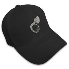 SOUSAPHONE MUSIC Embroidery Embroidered Adjustable Hat Baseball Cap