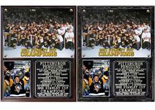 Pittsburgh Penguins 1991 Stanley Cup Champions Photo Plaque