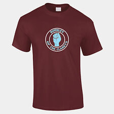 Burnley Up the Clarets Football Mens T Shirt Unofficial