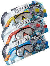 Osprey Adult Mask & Snorkel Set Snorkelling Swimming Diving Beach Ultra Clear