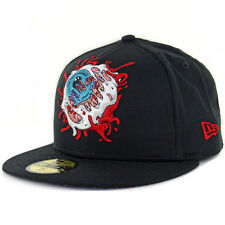 "Mishka NYC x New Era ""Exploding Keep Watch"" 59Fifty Fitted Hat (Black) Men's Cap"