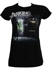 Asking Alexandria From Death To Destiny Ladies Black T-Shirt - NEW & OFFICIAL