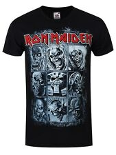 Iron Maiden Nine Eddies Men's Black T-shirt