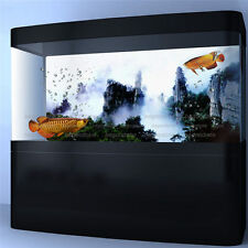 Aquarium Background Poster Movie Mountain View Fish Tank Wall Decorations Paper
