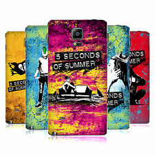 OFFICIAL 5 SECONDS OF SUMMER COLOUR CHAOS BATTERY COVER FOR SAMSUNG PHONES 1