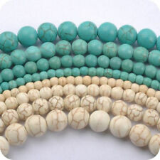 Wholesale Natural Turquoise Gemstone Spacer Loose Beads Charms Jewelry 20-100pcs