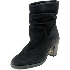 Vince Camuto Parka Women  Round Toe Suede Black Ankle Boot NWOB