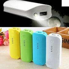 Portable Travel 5600mAh External Battery USB Charger Power Bank for Smartphone