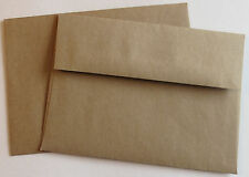 A7 Brown Bag / Grocery Bag Envelopes Square.Flap 5 1/4 x 7 1/4 for 5x7 cards