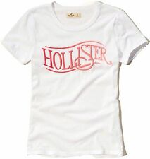Nwt Hollister By Abercrombie & Fitch Women's Tee T Shirt Size S M L White