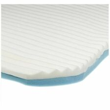 Cloud Memory Foam Mattress Topper by Contour, 3 Layers with Lumbar Support