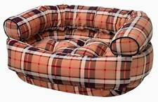 Double Donut Bed in Kensington Plaid Fabric [ID 1696333]