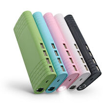 100000mAh External Power Bank LED 4 USB Output Battery Charger For Mobile Phone