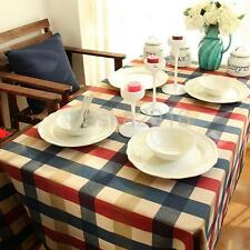 Round Rectangular Table Cover Tablecloth for Home Wedding Party Decor 7 Sizes