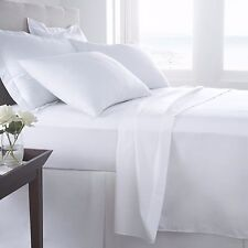 Hypoallergenic 100% Egyptian Cotton Flat Sheet Solid 800 Thread Count