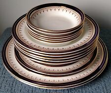 """Aynsley English Bone China ~ """"Leighton Cobalt"""" ~ PLATES and BOWLS by the piece"""