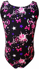 TALENT TALE GIRLS DANCE/ GYMNASTIC PRINTED TANK LEOTARD