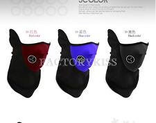 Neoprene Winter Neck Warm Face Mask Veil Shield Sports Motorcycle Ski Bike SWE