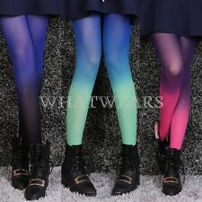 Sexy Fashion Womens Cute Gradient Print Pantyhose Tights Stockings #JC