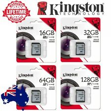 SD Card 32GB 64G 16G 128G Kingston Class10 HD Video Camera SDHC SDXC Memory Card