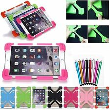 "Stretchable Flexible Shockproof Soft Silicone Cover Case For RCA 7"" 8"" Tablet PC"