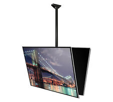 "B-Tech Bk-to-Bk Tilting Ceiling Mount (65"" TV's) 3 Sizes & 2 Colours - BT8429"
