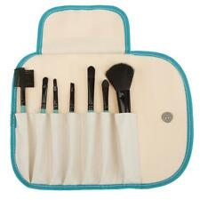 7pcs Pro Beauty Cosmetic Makeup Blush Eyeshadow Blending Brushes Kit + Pouch Bag