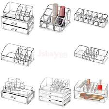 Cosmetic Makeup Acrylic Case Lipstick Brushes Holder Display Organizer Stand