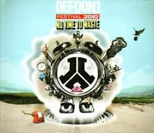 No Time to Waste - Defqon.1 Festival 2010 New & Sealed CD-JEWEL CASE Free Shippi